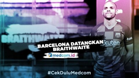 Barcelona Datangkan Braithwaite dengan Status Transfer Darurat
