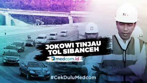 Jokowi Tinjau Pembangunan Tol Sigli-Banda Aceh