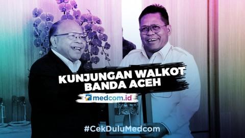 Kunjungan Walikota Banda Aceh ke Media Group