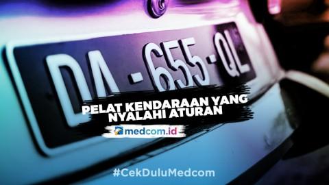 Pelat Nomor Kendaraan yang Menyalahi Aturan, Kena Denda Rp500 ribu
