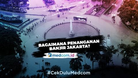 Highlight Primetime News Metro TV - Pemprov DKI Bicara Penanganan Banjir Jakarta