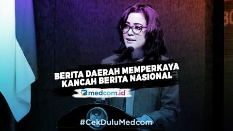 CEO Medcom.id: Berita Daerah akan Semakin Memperkaya Kancah Berita Nasional