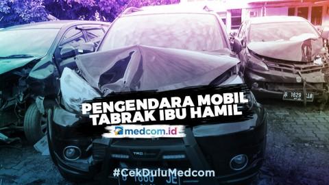 Pengendara Mobil yang Tabrak Ibu Hamil, Berstatus Tersangka