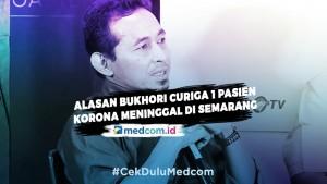 Alasan Bukhari Curiga 1 Pasien Korona Meninggal di Semarang