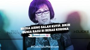 Terungkap! Media Asing Salah Kutip, Bikin Dunia Ragu RI Bebas Korona