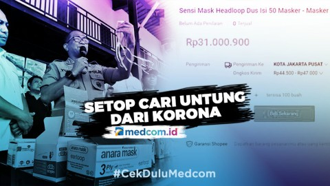 Setop Cari Untung dari Korona - Highlight Prime Talk Metro TV