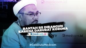 Bantah RS Dibangun Karena RI Darurat Korona, Ngabalin: Naudzubillah!