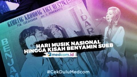 Peringati Hari Musik Nasional hingga Perjalanan Musik Benyamin Sueb