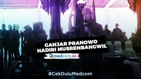 Ganjar Pranowo Hadiri Musrenbangwil Jateng
