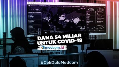Pemprov DKI Siapkan Dana Rp54 M Untuk Penanganan Covid-19