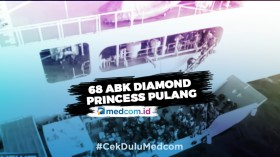 68 WNI ABK Diamond Princess yang Pulang Hari Ini Dipastikan Sehat