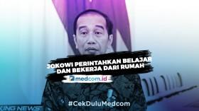 Jokowi: Bekerja, Belajar dan Ibadah dari Rumah