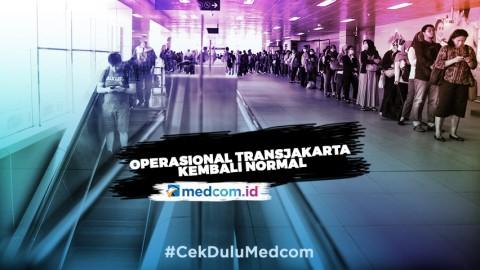 Operasional Transjakarta kembali Normal