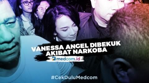 Vanessa Angel dan Suami Dibekuk Akibat Narkoba