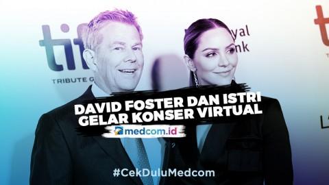 Di Tengah Wabah Korona, David Foster dan Katharine McPhee Gelar Konser Virtual
