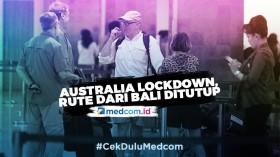 Australia Lockdown, Penerbangan Rute Bali-Australia Ditutup