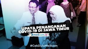 Upaya Penanganan Covid-19 di Jawa Timur