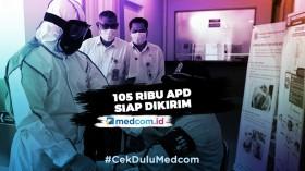 105 Ribu APD Siap Dikirim ke Seluruh Rumah Sakit di Indonesia