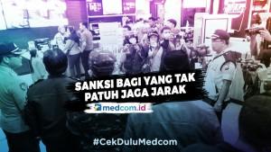 Sanksi Bagi yang Tak Patuh Jaga Jarak -  Highlight Prime Talk Metro TV