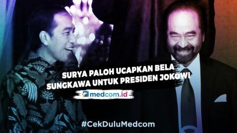 Surya Paloh Ucapkan Bela Sungkawa untuk Presiden Jokowi