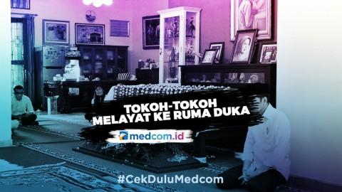 Para Tokoh Berdatangan ke Rumah Duka Ibunda Jokowi