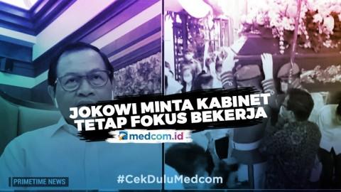 Tengah Berduka, Jokowi Minta Kabinet Tetap Fokus Bekerja - Highlight Primetime News Metro TV