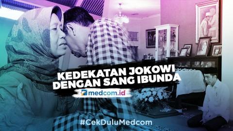 Kedekatan Joko Widodo dengan Sang Ibunda