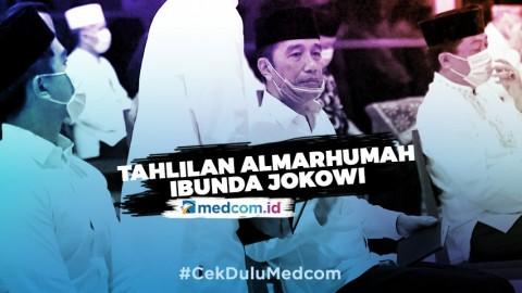 Presiden dan Keluarga Gelar Tahlilan untuk Almarhumah Ibunda Jokowi