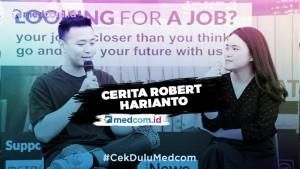 Cerita Robert Harianto, Tak Pernah Bercita-cita Jadi Presenter