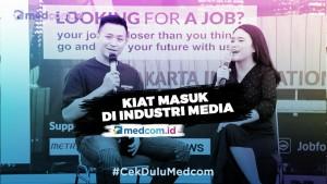 Robert Harianto: Masuk di Industri Media Harus Ada Kemampuan untuk Mau Belajar
