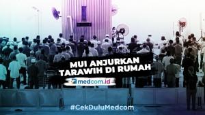 Ramadan Sebentar Lagi, MUI  Anjurkan Masyarakat Ibadah Tarawih di Rumah