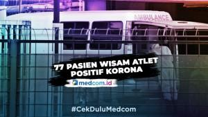 387 Orang Dirawat  di RS Wisma Atlet, 77 Dinyatakan Positif Korona