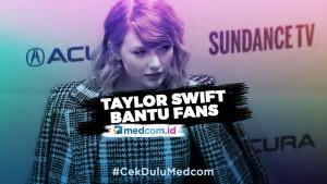 Taylor Swift Kirim Uang untuk Fans Terdampak Korona