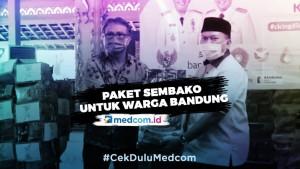 KLB Virus Korona, Pemkot Bandung Siapkan Ribuan Paket Sembako