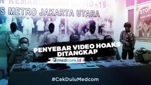 Tiga Penyebar Video Hoaks Korona di Kelapa Gading Ditangkap