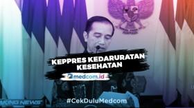 Jokowi Putuskan Penerapan Pembatasan Sosial Berskala Besar