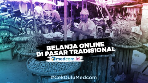 Pasar Tradisional di Kota Cilegon Berlakukan Belanja Online