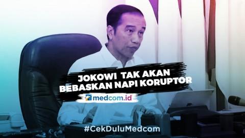 Di Tengah Pandemi Covid-19, Jokowi Tegaskan Tak Ada Pembebasan Koruptor