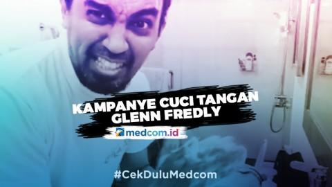 Saat Glenn Fredly Kampanyekan Cuci Tangan untuk Cegah Korona