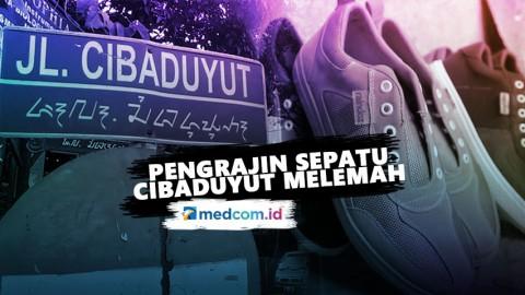 Pengrajin Sepatu Cibaduyut Bandung Melemah