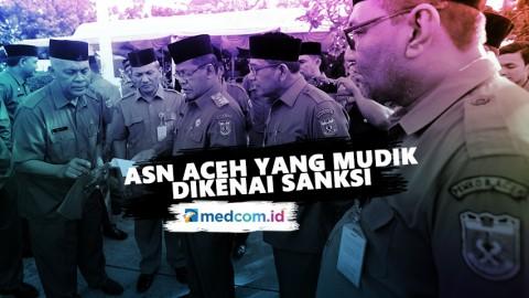 ASN Aceh yang Tetap Mudik Tak Bisa Balik ke Banda Aceh
