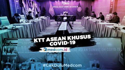 Tujuh Poin Hasil KTT ASEAN Khusus Covid-19
