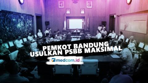 Pemkot Usulkan PSBB, Pintu Masuk Bandung Diperketat