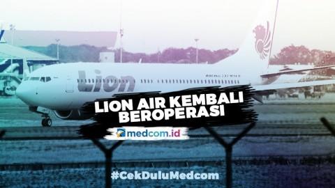 Lion Air Kembali Beroperasi Mulai 3 Mei untuk Layani Penerbangan Tertentu
