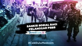 Riza Patria Beberkan Alasan Pemberian Sanksi Sosial Pelanggar PSBB