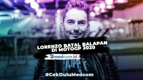Tidak Ada Wild Card Musim Ini, Jorge Lorenzo Batal Balapan di MotoGP 2020
