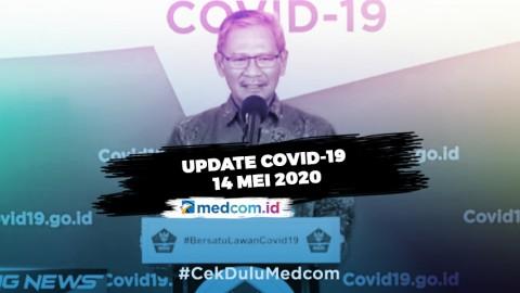 Update COVID-19 14 Mei: 16.006 Positif, 3.518 Sembuh, 1.043 Meninggal