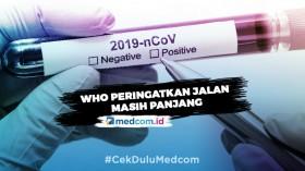 WHO Sebut Virus Korona Tidak Akan Hilang