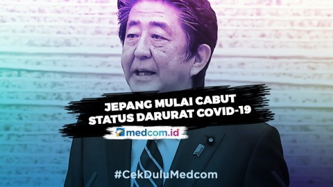 Jepang akan Cabut Status Darurat COVID-19 di  Sejumlah Wilayah