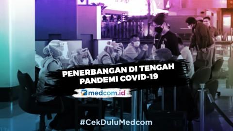 Penerbangan di Tengah Pandemi Covid-19 - Highlight Primetime News Metro TV